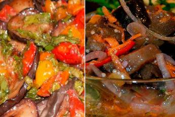 Маринованные баклажаны — 2 рецепта вкусной закуски