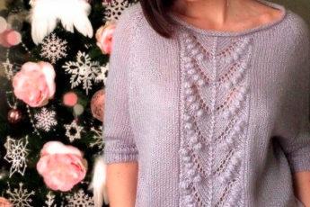 Очень красивый узор для свитера